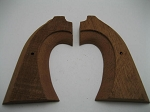 Bisley Mahogany Two-Piece Rough Shaped Grips