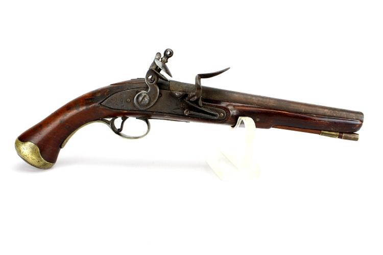 American Revolutionary War Holster Pistol - Made from Salvaged British Parts