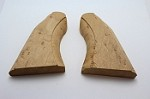 .36 Cal Whitney Revolver Birdseye Maple Two Piece Rough Shaped Grips