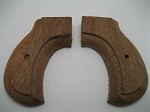Colt Lightning Walnut Two-Piece Rough Shaped Grips