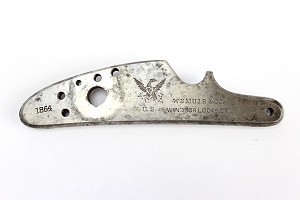M1861 Wm Muir Lockplate