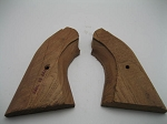 Remington New Model Army Mahogany Two-Piece Rough Shaped Grips