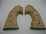 Bisley Birdseye Maple Two-Piece Rough Shaped Grips
